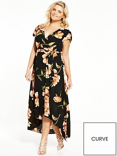 ax-paris-curve-floral-maxi-dress