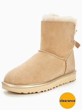ugg-mini-bailey-bow-ii-metallic-boot