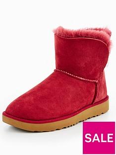 ugg-classic-cuff-mini-boot-rednbsp