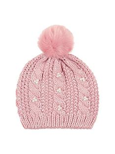 monsoon-shimmer-pearl-cable-beanie