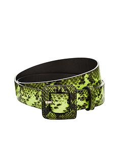 v-by-very-snake-print-waist-belt