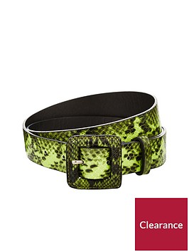 v-by-very-snake-print-waist-belt