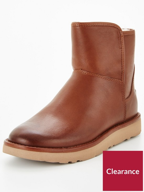 bc3ec6d0efb free shipping ugg mini leather boots 10329 0964f