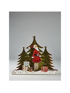 gisela-graham-santa-with-trees-3d-wooden-ornament