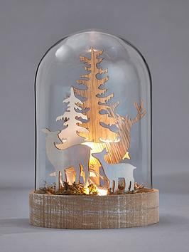 gisela-graham-lit-wooden-trees-in-a-glass-globe-christmas-decoration