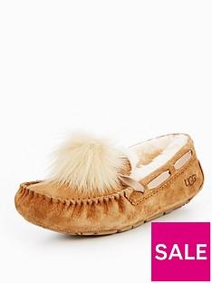 ugg-dakota-pom-pom-slipper