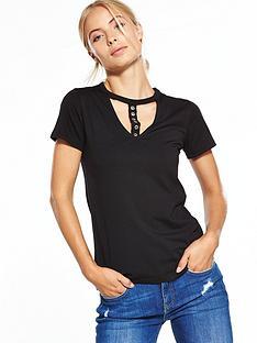 v-by-very-eyelet-choker-t-shirt-black