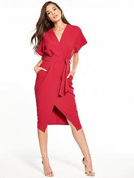 closet-wrap-tie-waist-dress