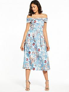 closet-closet-bardot-floral-midi-dress