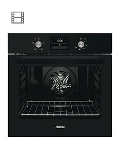 zanussi-zob35471bk-60cm-built-in-single-electric-oven-black