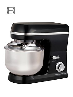 Morphy Richards Accents Stand Mixer - Black