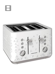 morphy-richards-prism-4-slice-toaster-white