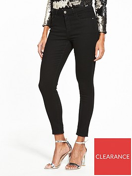 v-by-very-short-denni-mid-rise-skinny-jeans-black