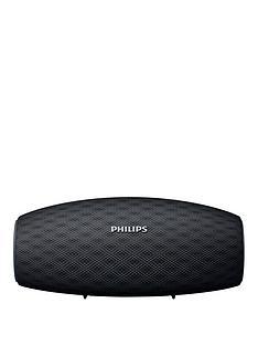 philips-wireless-portable-speaker-bt6900b-10w-10hr-long-bluetooth-range-waterproof-dustproof-quick-charge-option-black