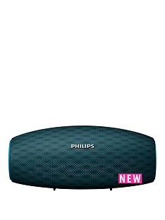 philips-wireless-portable-speaker-bt6900b-10w-10hr-long-bluetooth-range-waterproof-dustproof-quick-charge-option-teal