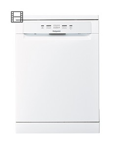 Hotpoint Aquarius+ HFC2B+26C Full Size 14 Place Dishwasher - White