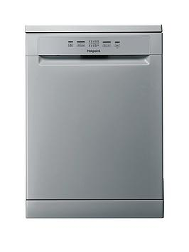 Hotpoint Hfc2B19Sv 13-Place Full Size Dishwasher With Quick Wash - Silver/Grey Best Price, Cheapest Prices