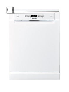 Hotpoint Ultima HFO3P23WL 15-Place Full Size Dishwasher - White Best Price, Cheapest Prices