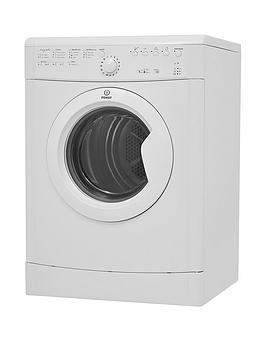 Indesit Ecotime Idvl75Br.9 7Kg Vented Sensor Tumble Dryer - White