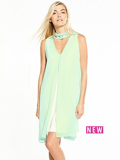 wallis-wallis-mint-embrodiered-overlayer-dress