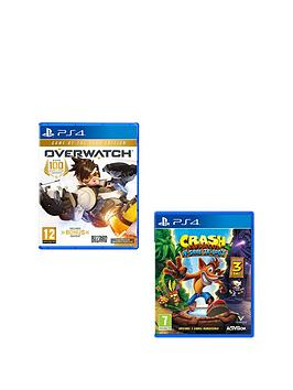 playstation-4-crash-bandicoot-n-sane-trilogy-and-overwatch-goty-edition-bundle