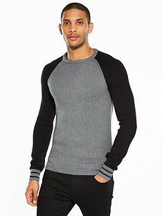 wrangler-raglan-crew-knit