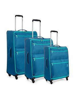 Revelation By Antler Weightless 4-Wheel 3 Piece Luggage Set