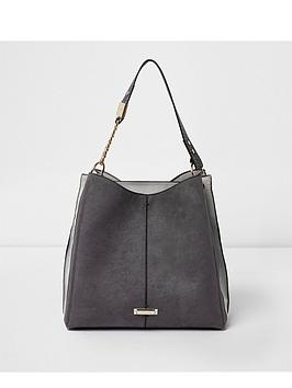 river-island-grey-slouch-bag