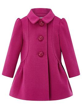 monsoon-baby-hannah-hot-pink-coat