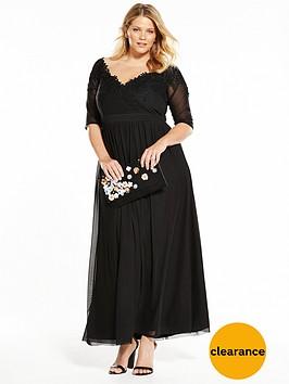 little-mistress-curve-maxi-dress-black