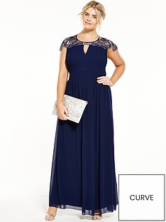 little-mistress-curve-cap-sleeve-maxi-dress-navy