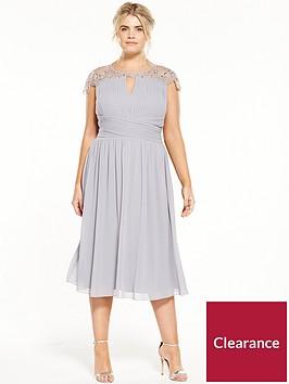 little-mistress-curve-cap-sleeve-midi-dress-grey