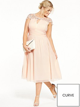 little-mistress-curve-cap-sleeve-midi-dress-nude