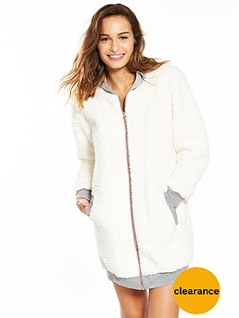 v-by-very-hooded-zip-through-lambi-fleece-robe