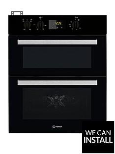 indesit-aria-idu6340bl-built-under-double-electric-oven-black