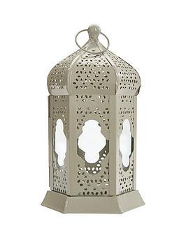 grey-metal-lantern