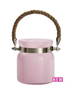 pink-jar-tea-light-holder