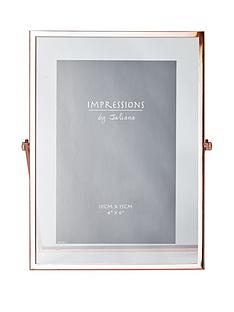 copper-finish-floating-photo-frame