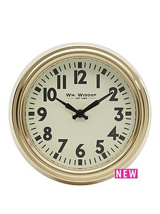 round-metal-case-gold-wall-clock