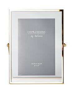 gold-finish-floating-photo-frame
