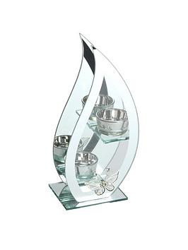 hestia-glass-and-mirror-flame-shaped-double-tea-light-holder