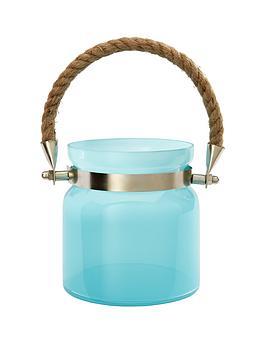 blue-jar-tea-light-holder