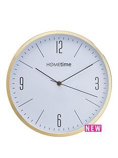 hometime-white-dial-wall-clock-ndash-30-cm-diameter