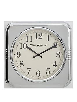 square-metal-case-chrome-wall-clock