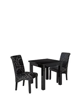 gloss-square-to-rectangle-80-160-cm-extending-dining-table-2-oxford-chairs
