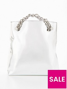 kendall-kylie-kendall-amp-kylie-chain-detail-clutch-bag
