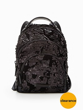 kendall-kylie-kendall-amp-kylie-velvet-sequin-backpack