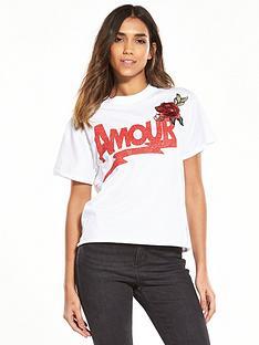 miss-selfridge-amour-floral-applique-tee