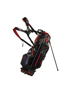 big-max-dri-lite-g-stand-bag-blackcharcoalred