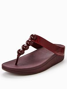 fitflop-rola-detailed-flat-sandal-plum